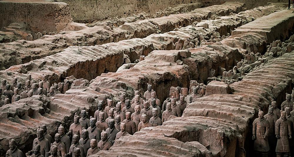 延安、南泥湾、壶口、韩城古城、华山、兵马俑、古城墙双飞5日游